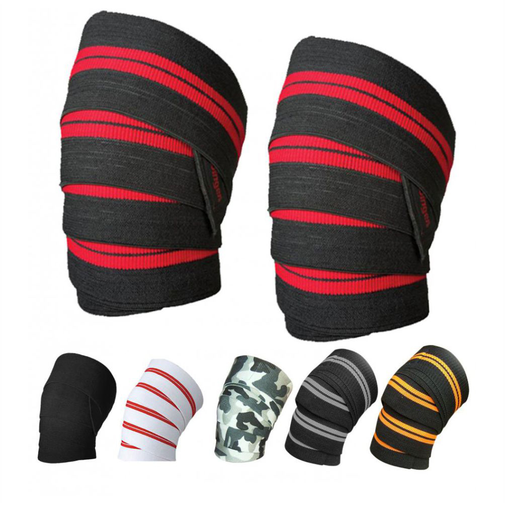 Weight Lifting Knee Wraps